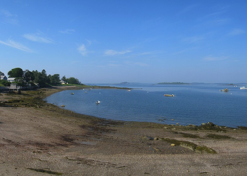 View of Beach at Harpswell